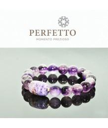 Charoite charm +Super Seven Purple Rutilated Quartz