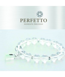 GREEN PHANTOM DANGLE+SATYALOKA CLEAR AZEZTULITE BRACELET