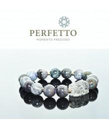 Super Seven Pixiu + Blue Sugilite Bracelet