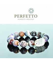 Purple Rutilated Pixiu + Sugilite Bracelet